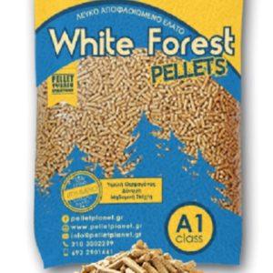 White forest pellet