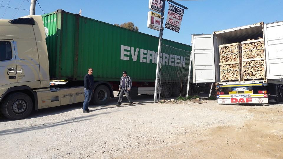 Μεταφορές container Αθήνα Αττική