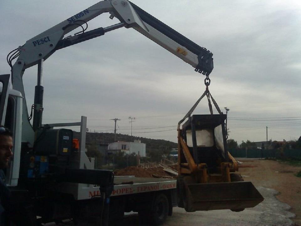 Μεταφορές εμπορευμάτων και εργαλείων