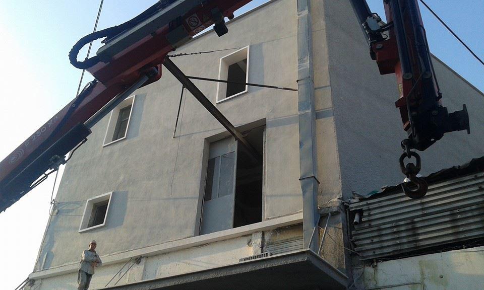 Μεταφορές υλικών σε όροφο